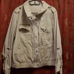 Style & Co. Women's lightweight jacket size 18W